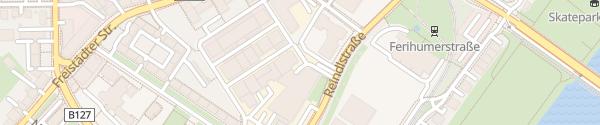 Karte KEBA Linz