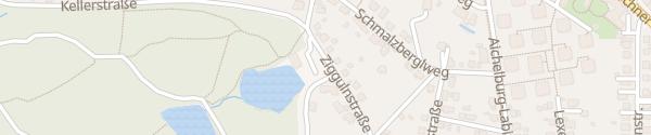 Karte Kreuzberglteich Klagenfurt