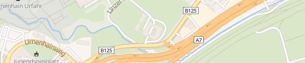 Karte E-Bike Ladesäule Swingolf Linz
