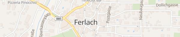 Karte Hauptplatz Ferlach