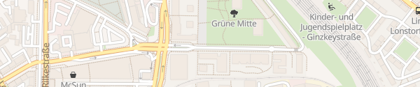 Karte Grüne Mitte Linz