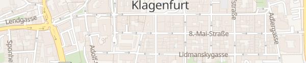 Karte IAM Ladesäule Klagenfurt am Wörthersee