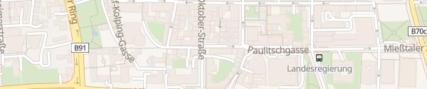 Karte IAM Ladesäule Klagenfurt