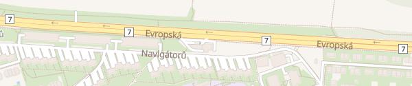 Karte MOL Europská smer centra Praha