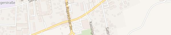Karte Lidl Flatschacherstrasse Klagenfurt