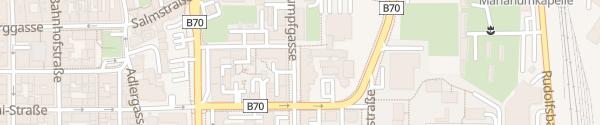 Karte Handelsakademie Klagenfurt