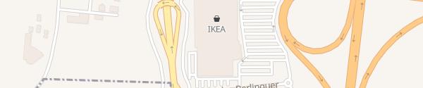 Karte IKEA Afragola