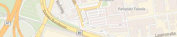 Karte Borealis Agrolinz Melamin GmbH Linz