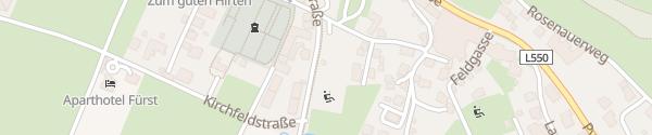 Karte Bahnhofstraße Windischgarsten
