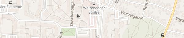 Karte Eurospar Klagenfurt/Welzenegg
