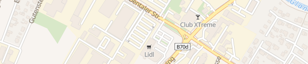 Karte Lidl Ebentalerstraße Klagenfurt