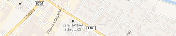 Karte Arnold-Schönberg-Straße Klagenfurt am Wörthersee