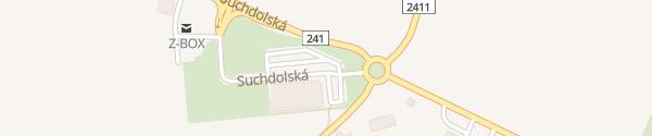 Karte Lidl Horoměřice