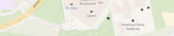 Karte Galerie Butovice Praha 5