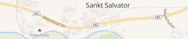 Karte IAM bei Gasthof Seppenbauer Sankt Salvator