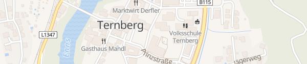 Karte Mittelschule Ternberg