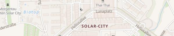 Karte TIM Solarcity Linz