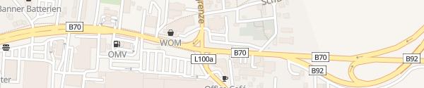 Karte IAM-Cafe Del Sol Klagenfurt