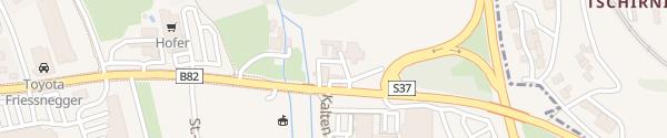 Karte BP Tankstelle - St Veit St. Veit an der Glan