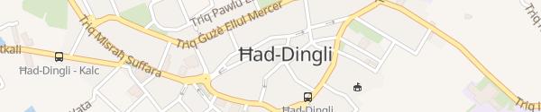 Karte innogy Ladesäule Ħad-Dingli