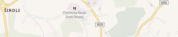 Karte Parkiralište Milihovo Viškovo