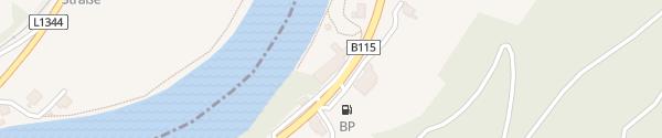 Karte Landhotel Eckhard St.Ulrich bei Steyr