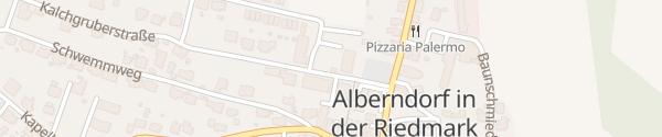 Karte Gemeindeamt Alberndorf