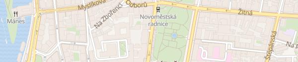 Karte Central Parking Prag