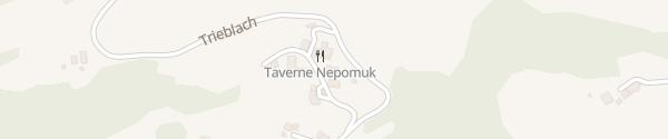 Karte Taverne Nepomuk Trieblach