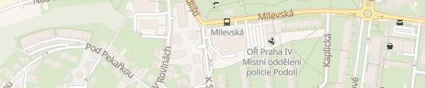 Karte Imofa Fiat Praha-Podolí
