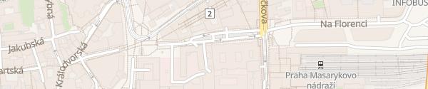 Karte Marriott Hotel Praha