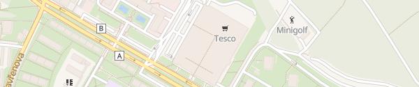 Karte Novodvorská Plaza Praha