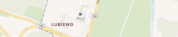 Karte MOYA Stacja Paliw Międzyzdroje