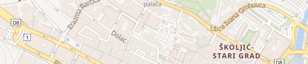 Karte Parkiralište Gomila Rijeka