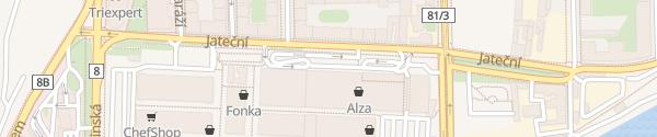 Karte Alza Praha