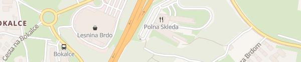 Karte Four Points by Sheraton Ljubljana