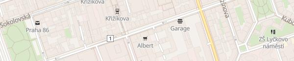 Karte Daho Cars Praha