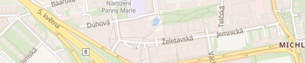 Karte BB centrum Praha