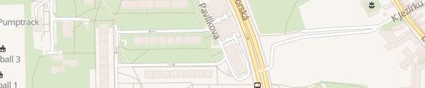 Karte Trafostanice 3391 Machuldova Praha