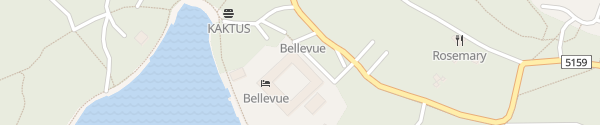 Karte Hotel Bellevue Lošinj