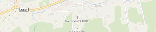 Karte Restaurace a penzion Na Stodolci Dolni Chribska