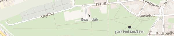 Karte Šport Center Koráb Praha-Libeň