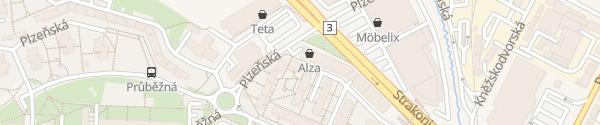 Karte Alza.cz České Budějovice
