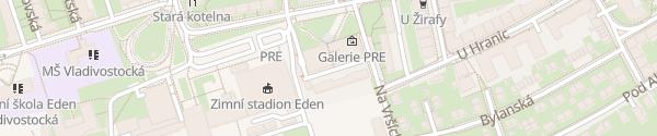 Karte Pražská energetika Praha