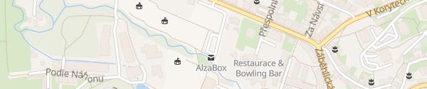 Karte Sportovní areál HAMR Praha-Záběhlice