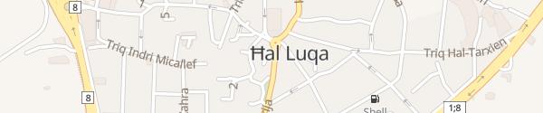Karte Luga Church Luqa