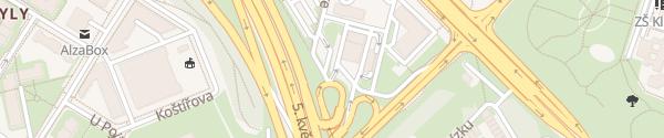 Karte MOL Türkova Praha