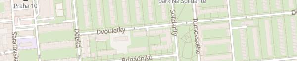 Karte Trafostanice Dvouletky Praha