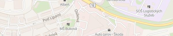Karte Auto Jarov Praha
