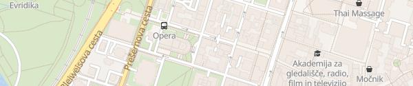Karte Opernhaus Ljubljana